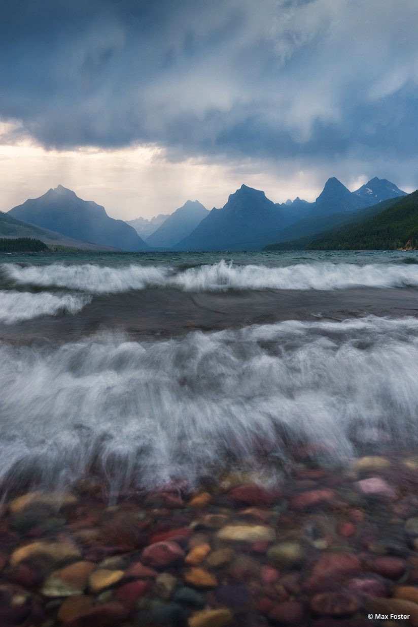 """Today's Photo Of The Day is """"A Stormy Brew"""" by Max Foster. Location: Glacier National Park, Montana."""