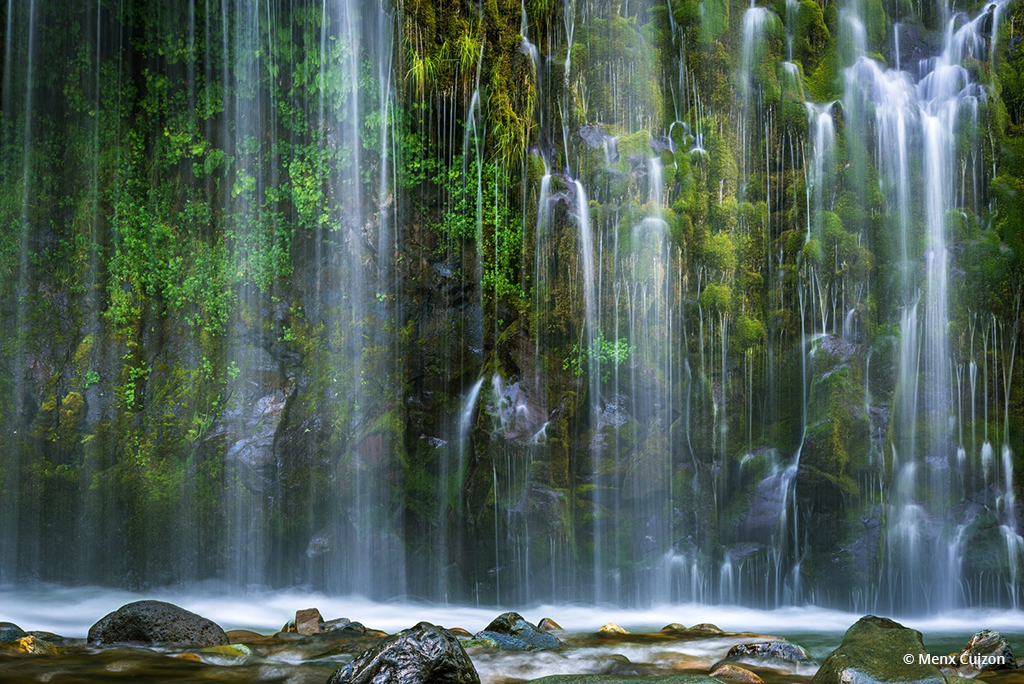 "Today's Photo Of The Day is ""Abundance"" by Menx Cuizon. Location: Mossbrae Falls, Dunsmuir, California."