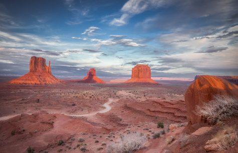 "Today's Photo Of The Day is ""Out West"" by Valerie Millett. Location: Monument Valley, Arizona."