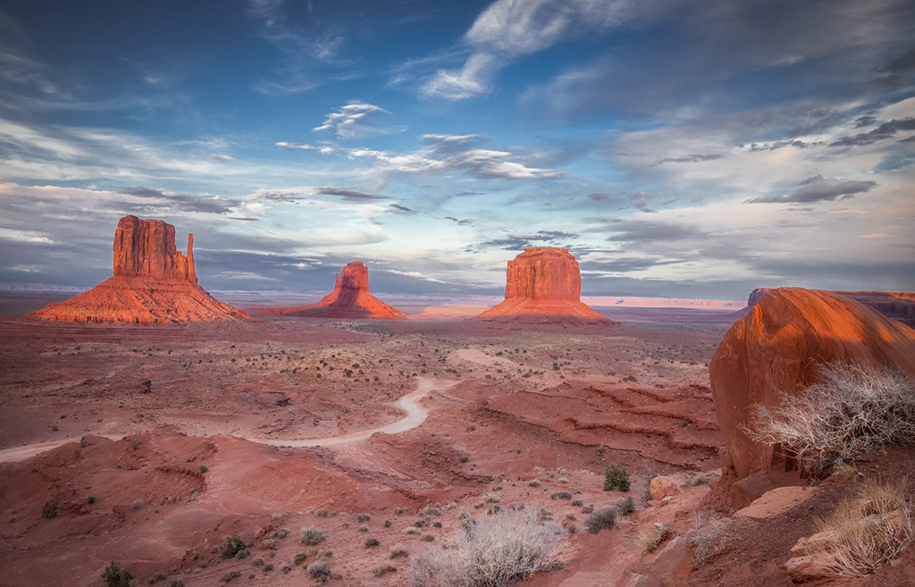 """Today's Photo Of The Day is """"Out West"""" by Valerie Millett. Location: Monument Valley, Arizona."""