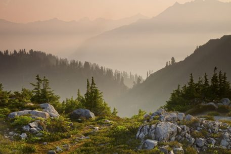 "Today's Photo Of The Day is ""Canadian Smoke"" by RimaS. Location: North Cascades, Washington."