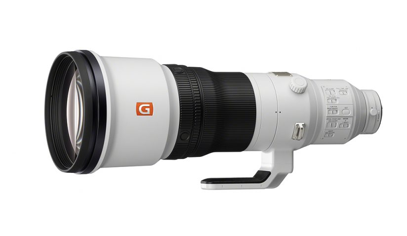 Image of Sony 600mm prime.