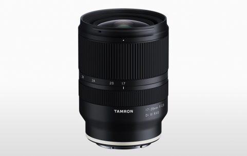 The second lens from Tamron designed for use with Sony E-mount full-frame cameras is the light, compact Tamron 17-28mm F/2.8 Di III RXD.