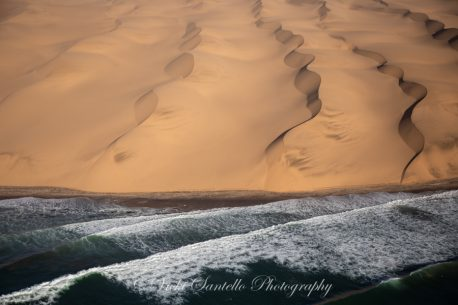 """Today's Photo Of The Day is """"Convergence"""" by Vicki Santello. Location: Sossusvlei, Namibia."""
