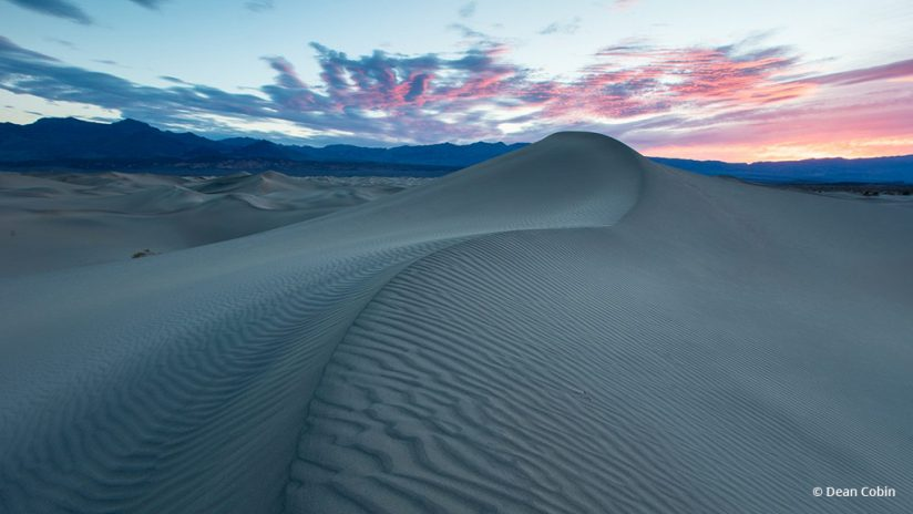 "Today's Photo Of The Day is ""Lines in the Sand"" by Dean Cobin. Location: Death Valley National Park, California."