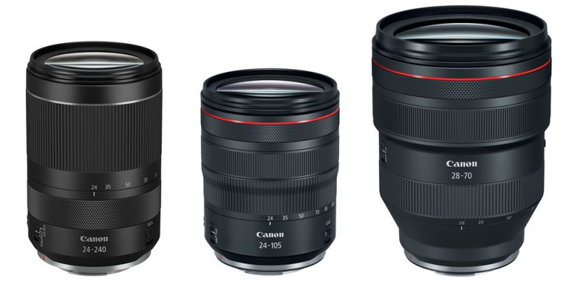 RF 24-240mm F4-6.3 IS USM compared to other zooms for Canon EOS R