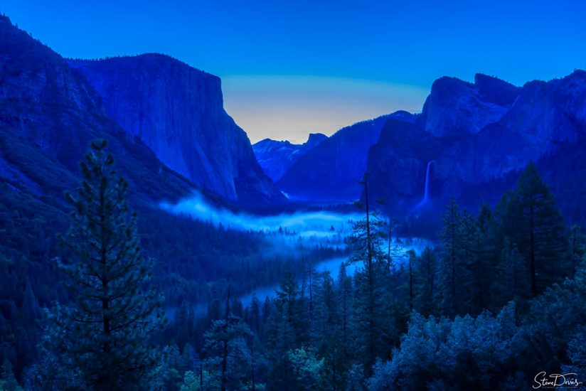 """Today's Photo Of The Day is """"Tunnel View Before Sunrise"""" by Steve Dorris. Yosemite Valley, California."""