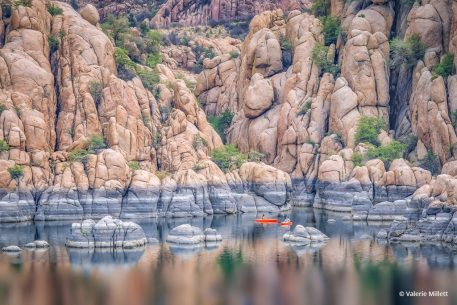 "Today's Photo Of The Day is ""Feeling Small"" by Valerie Millett. Location: Watson Lake, Prescott, Arizona."