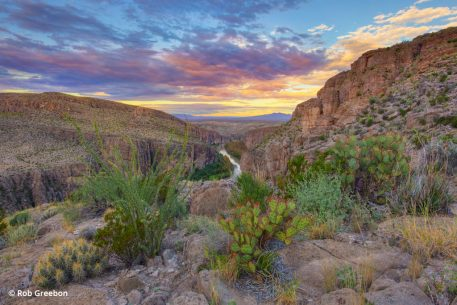 image of Hot Springs Canyon in Big Bend National Park, Texas