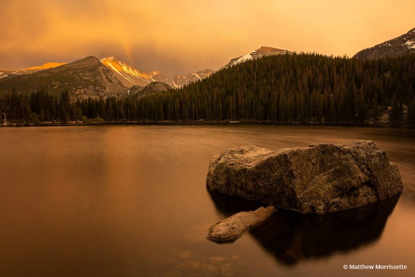 "Today's Photo Of The Day is ""Rocky Mountain Gold"" by Matthew Morrissette. Location: Rocky Mountain National Park, Colorado."