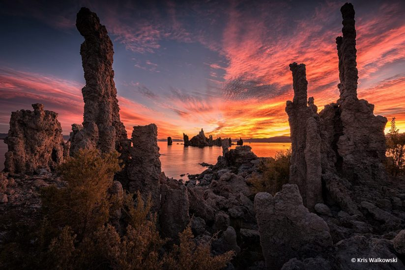 "Today's Photo Of The Day is ""Tufa Towers"" by Kris Walkowski. Location: Mono Lake, California."