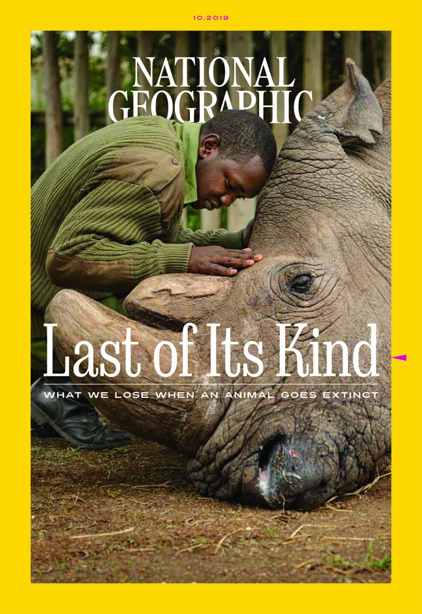 National Geographic's October issue