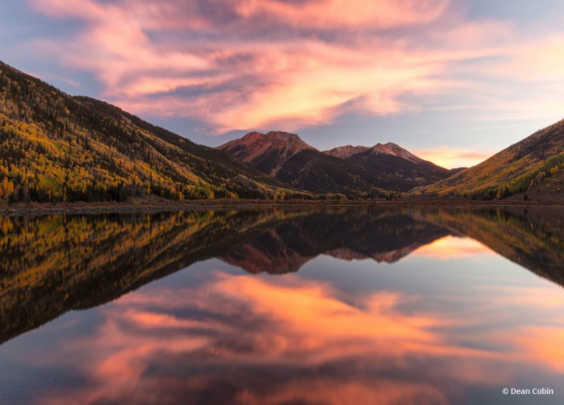 "Today's Photo Of The Day is ""Crystal Lake"" by Dean Cobin. Location: Ouray, Colorado."