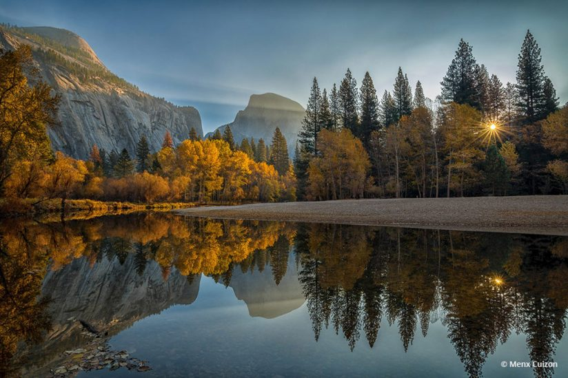 "Today's Photo Of The Day is ""The Morning Breaks"" by Menx Cuizon. Location: Yosemite National Park, California."