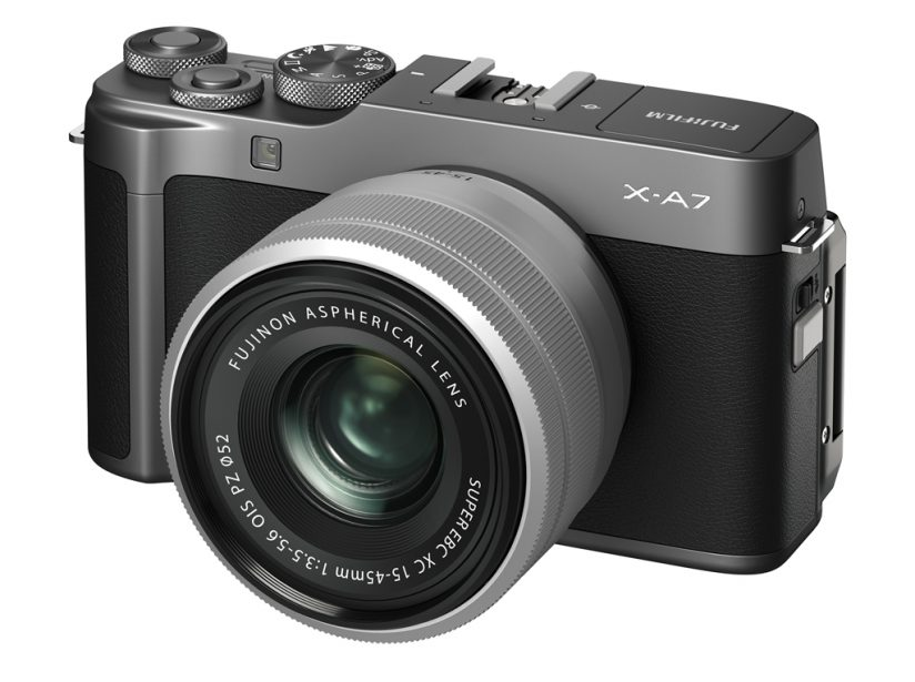 Fujifilm X-A7 front view