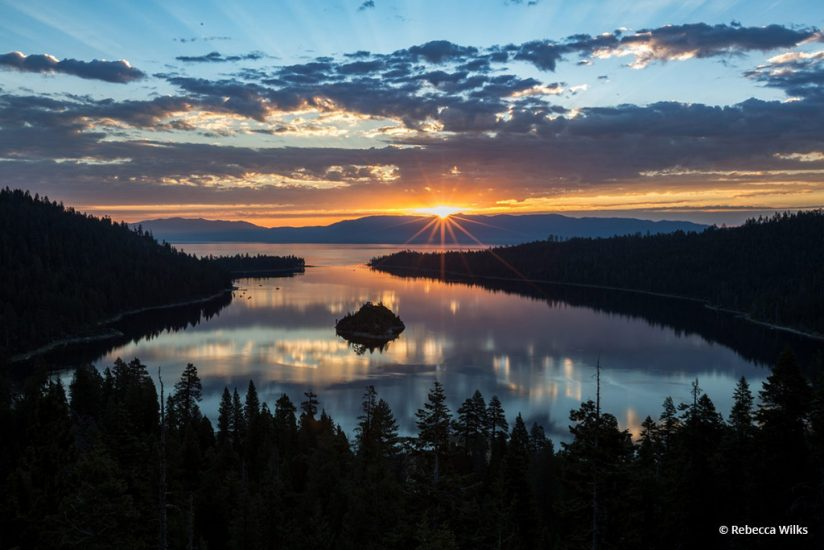 """Today's Photo Of The Day is """"Emerald"""" by Rebecca Wilks. Location: South Lake Tahoe, California."""