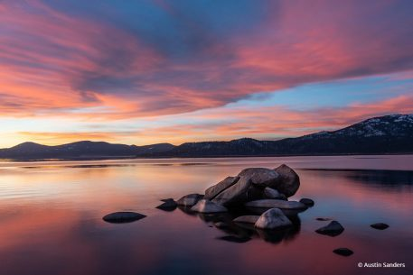 "Today's Photo Of The Day is ""Sand Harbor Dreamscape"" by Austin Sanders. Location: Lake Tahoe, Nevada."