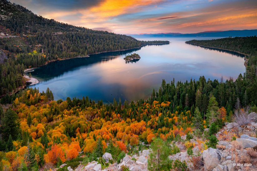 "Today's Photo Of The Day is ""Emerald Gold"" by Abe Blair. Location: South Lake Tahoe, California."