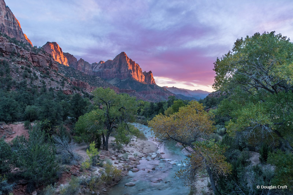 "Today's Photo Of The Day is ""The Watchman"" by Douglas Croft. Location: Zion National Park, Utah."