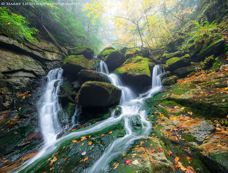 "Today's Photo Of The Day is ""Autumn Grotto"" by Harry Lichtman. Location: White Mountain National Forest, New Hampshire."