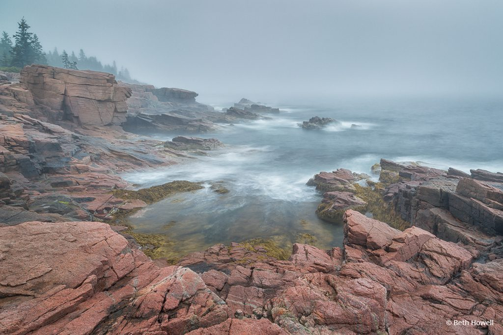 "Today's Photo Of The Day is ""Coastal Maine Morning"" by Beth Howell. Location: Mount Desert Island, Maine."