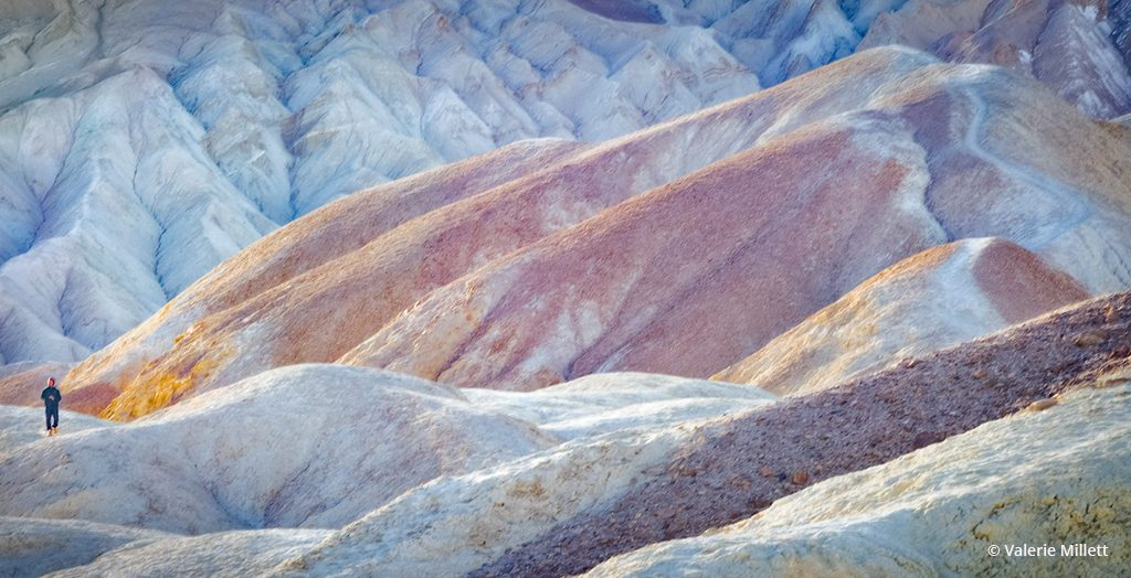 "Today's Photo Of The Day is ""Pastel Dunes"" by Valerie Millett. Location: Death Valley National Park, California."