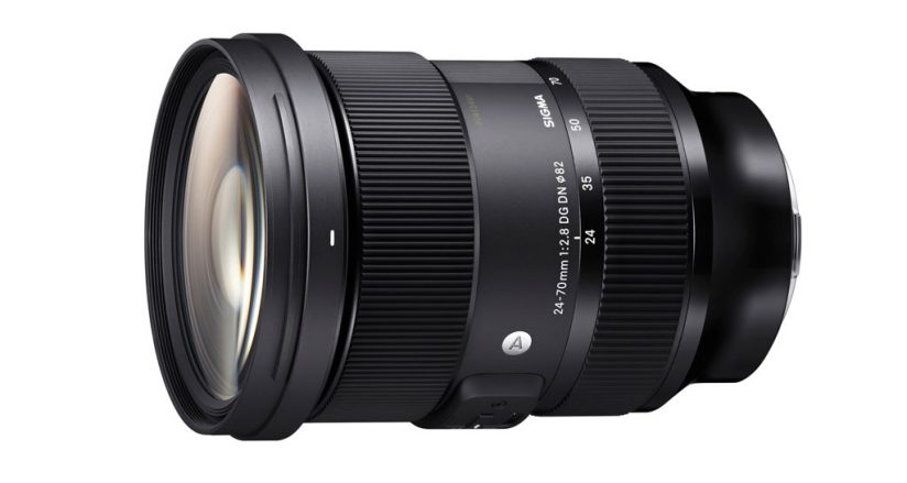 Sigma Introduces Premium 24-70mm F2.8 For Full-Frame Mirrorless