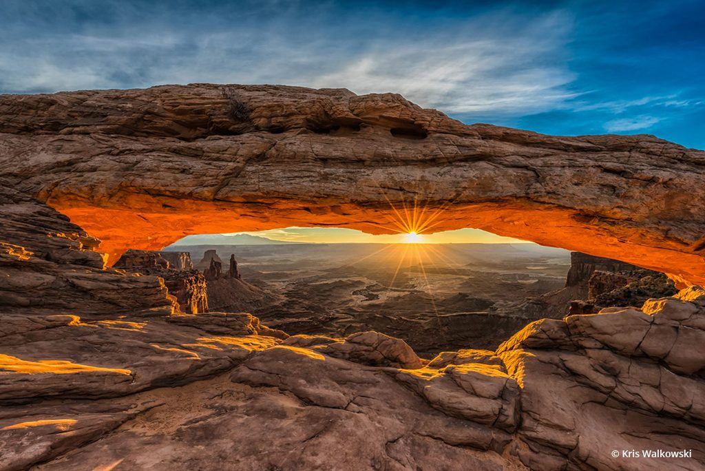 "Today's Photo Of The Day is ""Mesa Arch"" by Kris Walkowski. Location: Canyonlands National Park, Utah."
