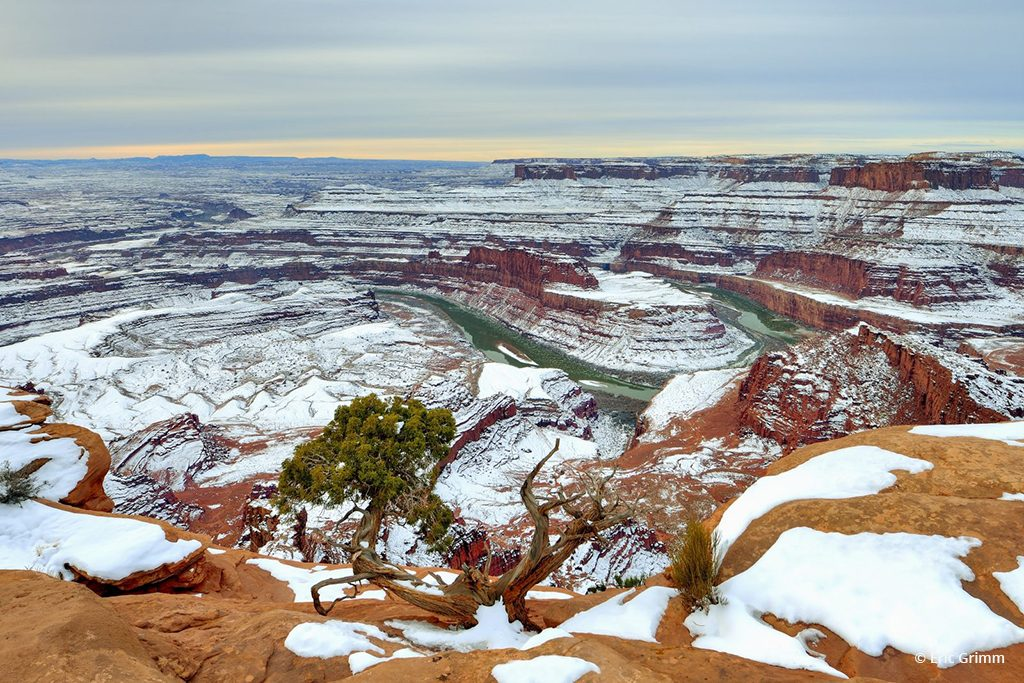 "Today's Photo Of The Day is ""Dead Hose Point"" by Eric Grimm. Location: Dead Horse Point State Park, Utah."