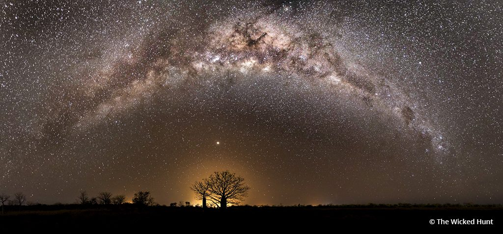 "Today's Photo Of The Day is ""Boab Under the Arc of the Milkyway"" by The Wicked Hunt. Location: Derby, Australia."