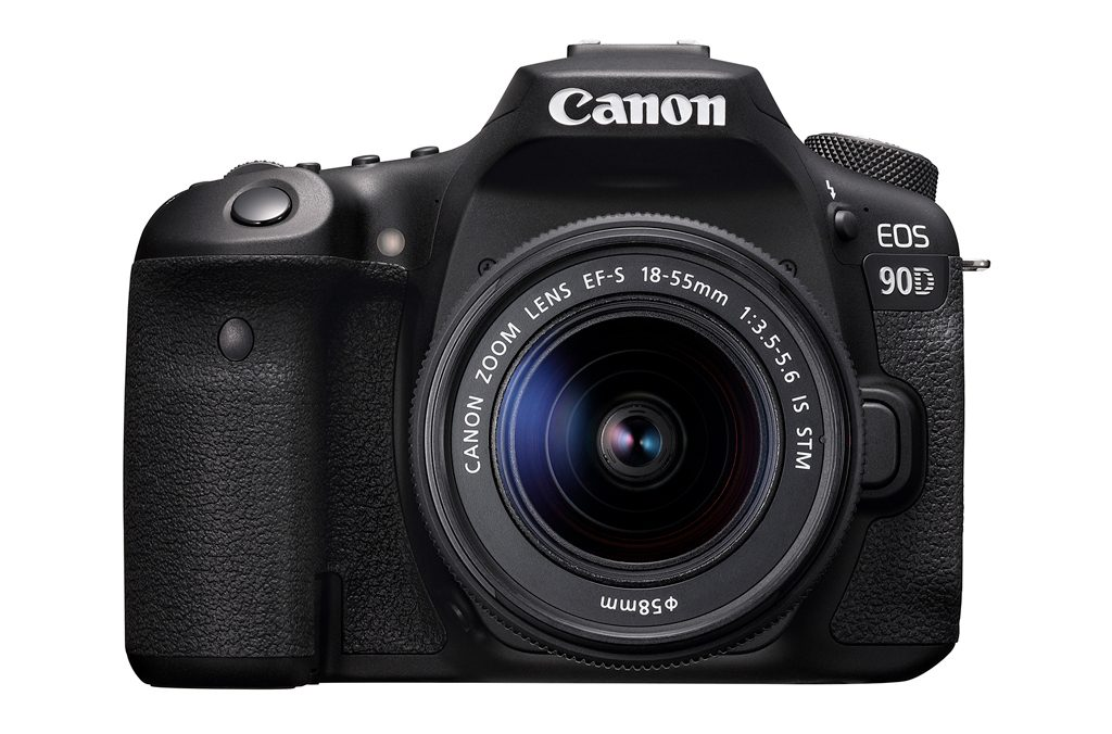 image of the front of the Canon EOS 90D