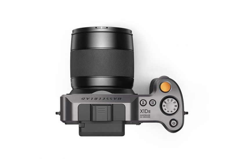 Hasselblad X1D II top view