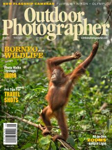 cover of outdoor photographer may 2020 issue
