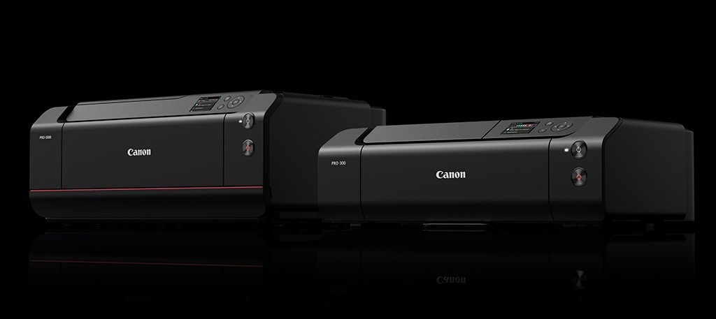 Image of Canon imagePROFRAF PRO-100 and PRO-300