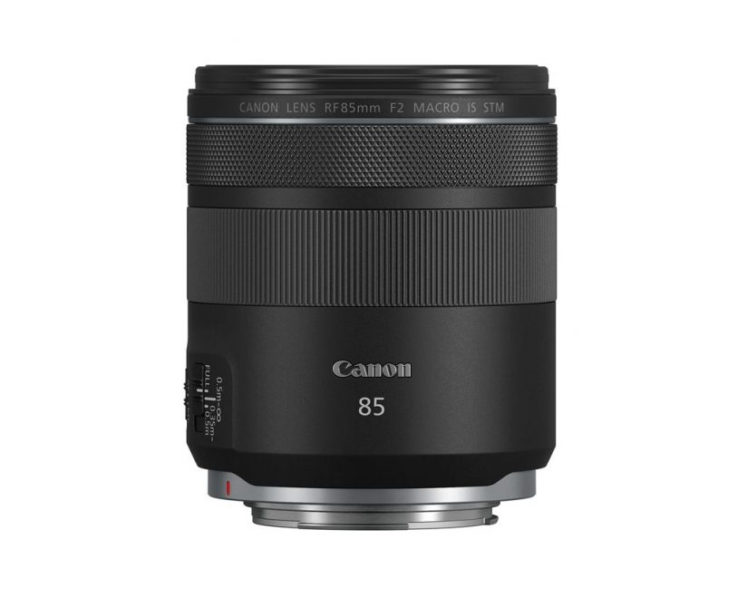 image of the Canon RF85mm F2 MACRO IS STM