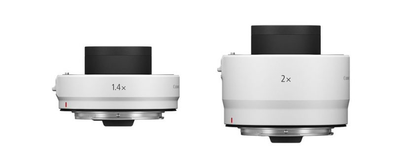 image of Canon's Extender RF 1.4x and Extender RF 2x