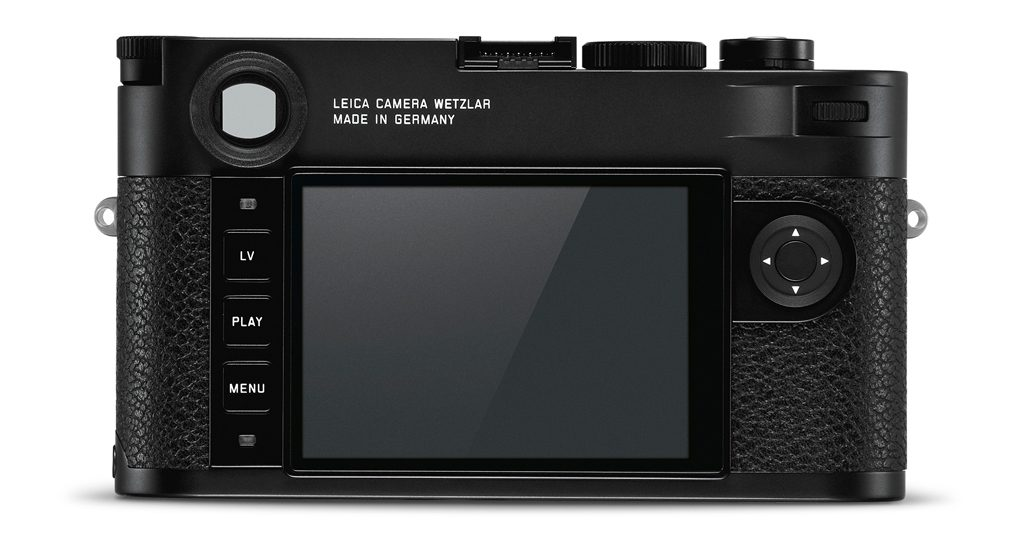 Image of the back of the Leica M10-R