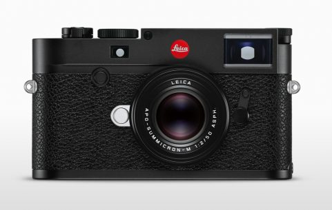 Image of the front of the Leica M10-R camera