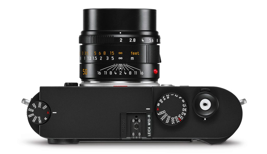 Image of the top of the Leica M10-R