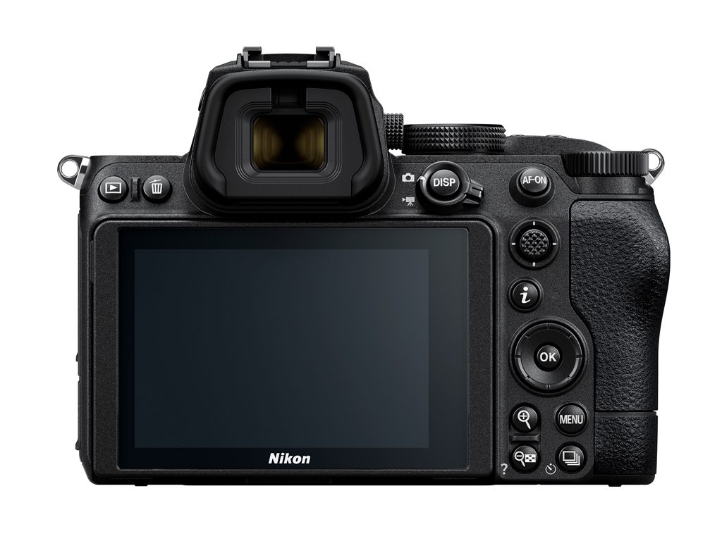 Image of the back of the Nikon Z 5