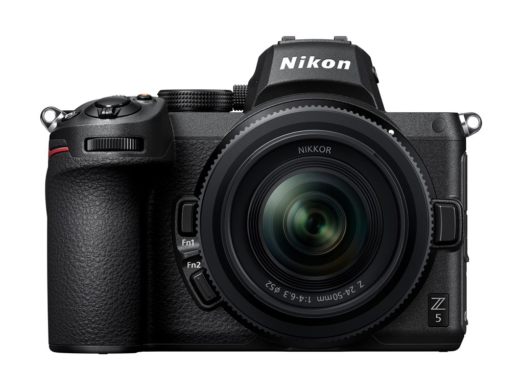Image of the front of the Nikon Z 5