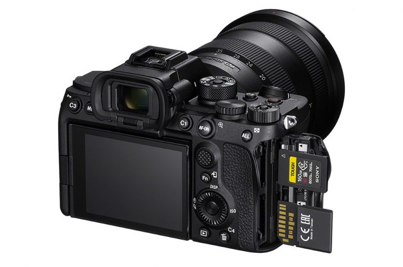 Image of the back of the Sony a7S III