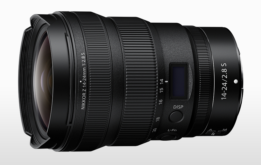 Image of the NIKKOR Z 14-24mm f/2.8 S lens