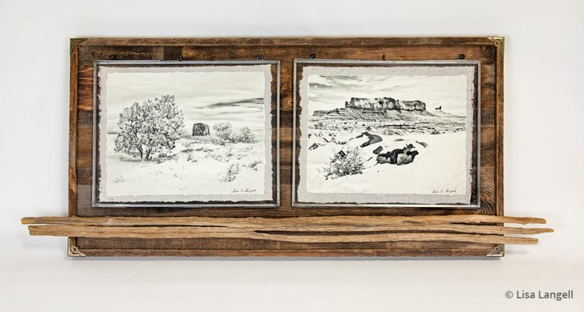 Prints that sell: framed diptych