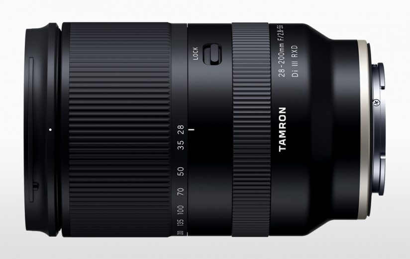 Tamron zooms for Sony: image of the Tamron Tamron 28-200mm F/2.8-5.6 Di III RXD (Model A071)