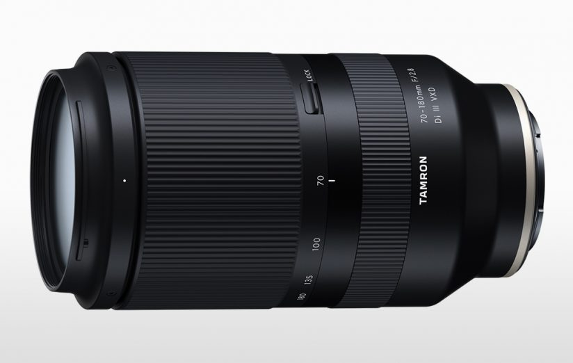 Tamron zooms for Sony: image of the Tamron 70-180mm F/2.8 Di III VXD (Model A056)