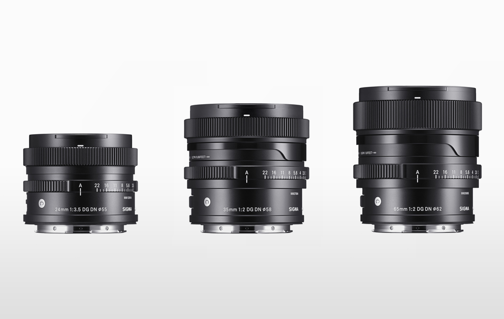 Sigma I series lenses