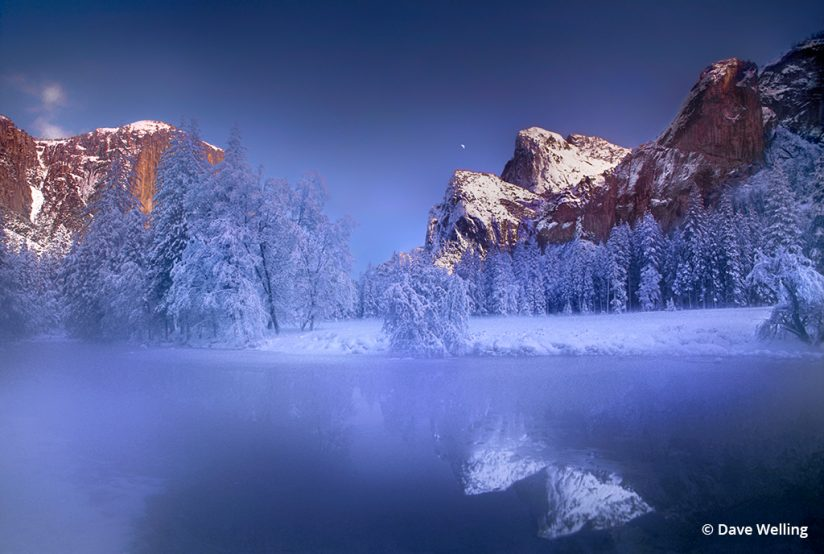 Winter landscape photographer: Gates of the Valley