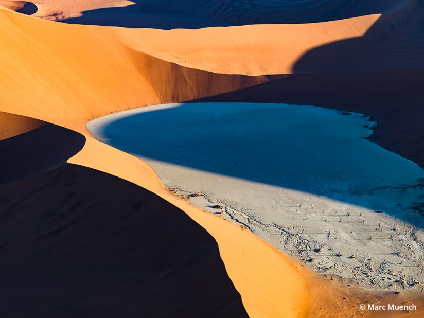 Art of luminosity, example of using shadows in a landscape photo