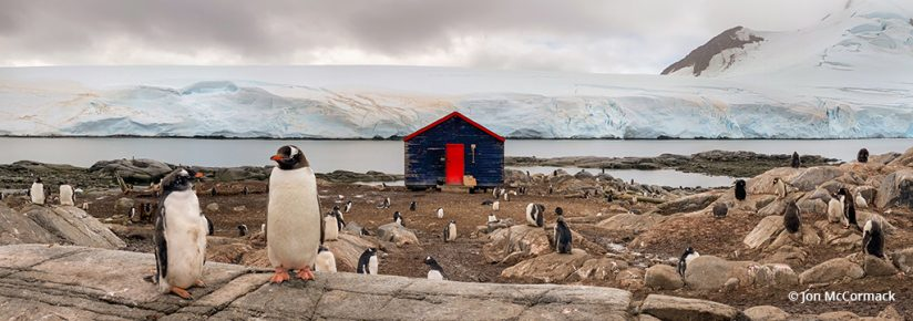 Image of Station A, taken while photographing Antarctica.